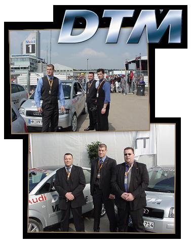 25 Jahre R.A.D Sicherheit – DTM