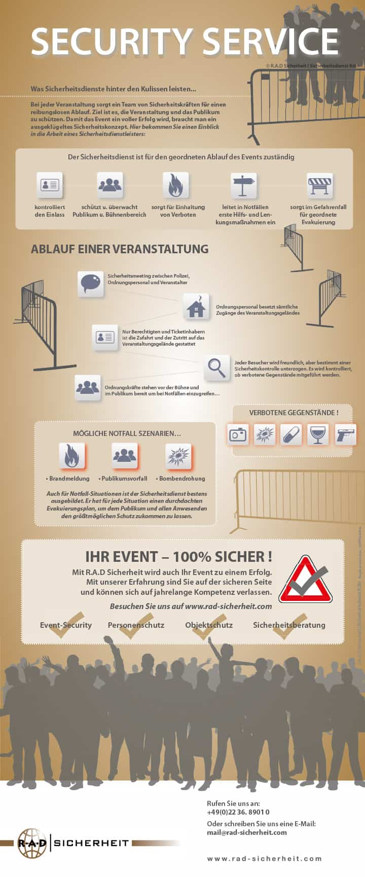 R.A.D Sicherheit: Event Security